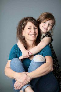 Debi Ireland and granddaughter